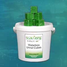 Waterless Urinal Cubes